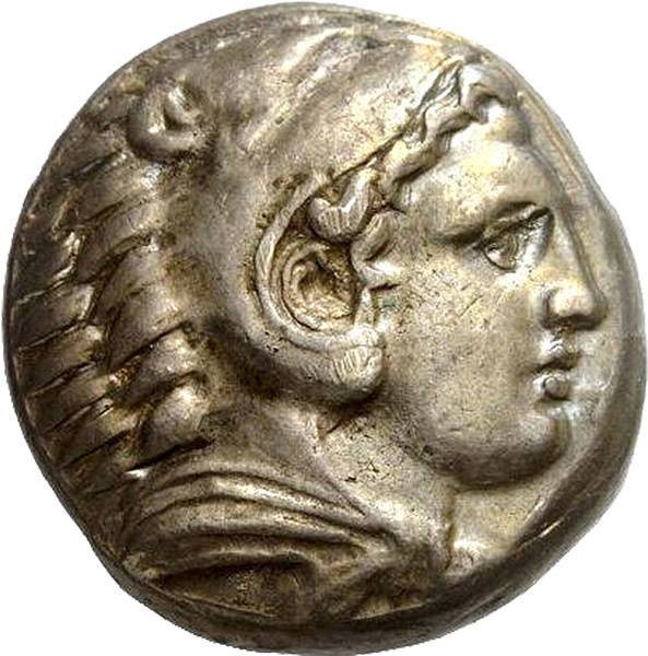 Tetradrachme Makedonien Alexander der Große 336 v.Chr. - 323 v. Chr.