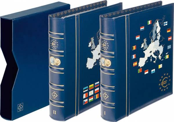 VISTA Euro-Münzenalbum mit Schutzkassette