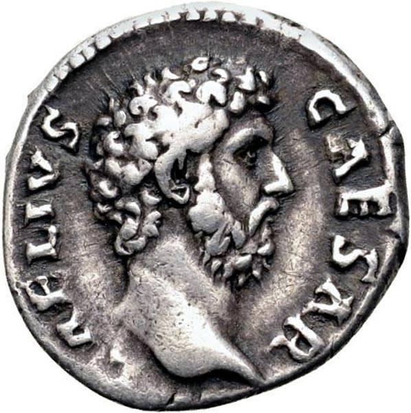 Denar Römisches Kaiserreich Prinz Aelius 136-138