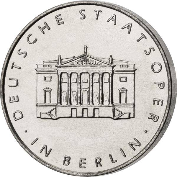 Gedenkmedaille DDR Staatsoper Berlin 1967