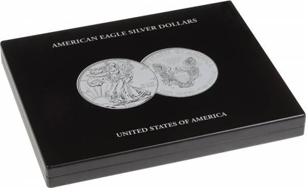 Münzkassette für 20 Silbermünzen American Eagle