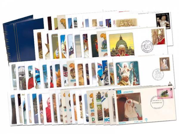 57 Reisebriefe von Papst Johannes Paul II. Papst Benedikt XVI. 1980-2010
