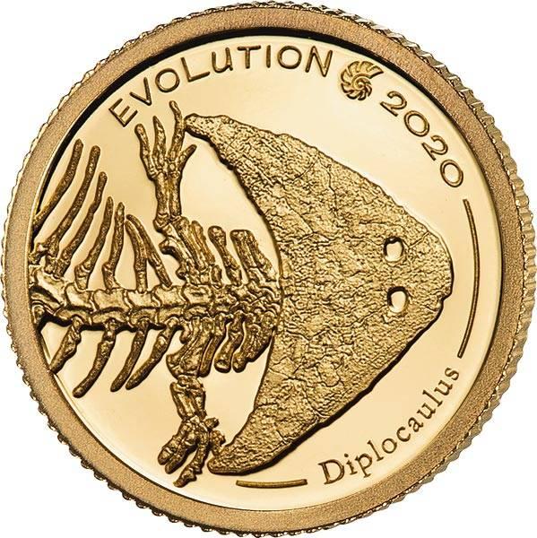 1.000 Togrog Mongolei Evolution Diplocaulus 2020