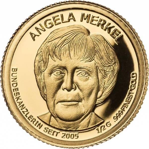 100 Francs Mali Angela Merkel 2014