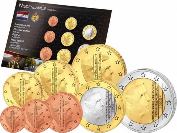 Premium-Euro-Kursmünzensatz Niederlande