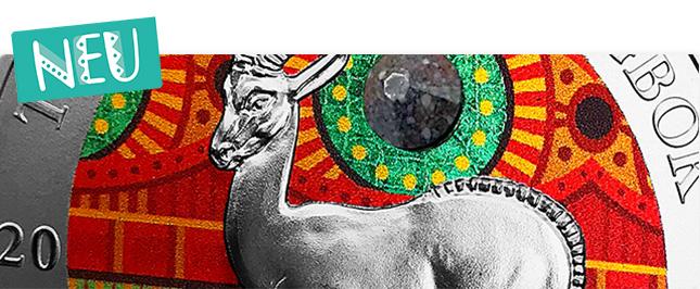 Marmorierter Terrakotta-Stein