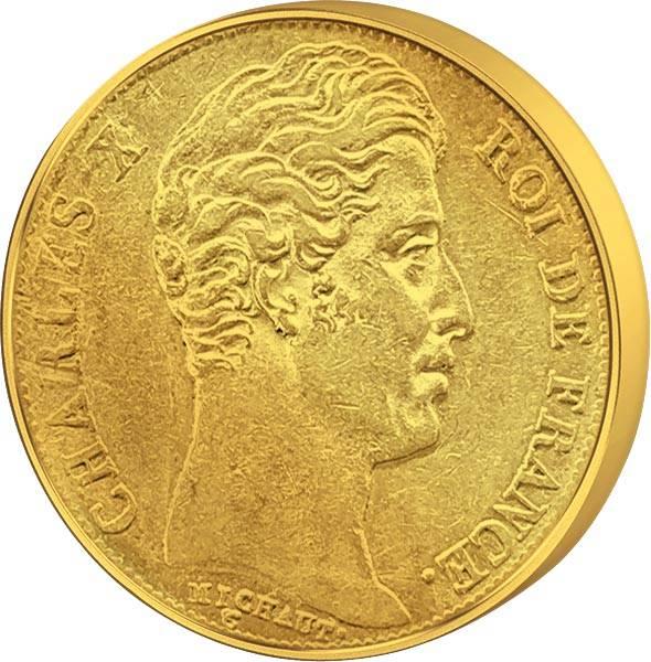 20 Francs Frankreich Charles X. 1824-1830