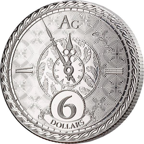 1 Unze Silber Tokelau Chronos 2020
