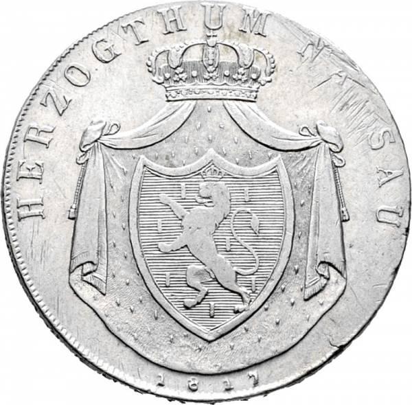 Kronentaler Nassau Herzog Wilhelm 1817