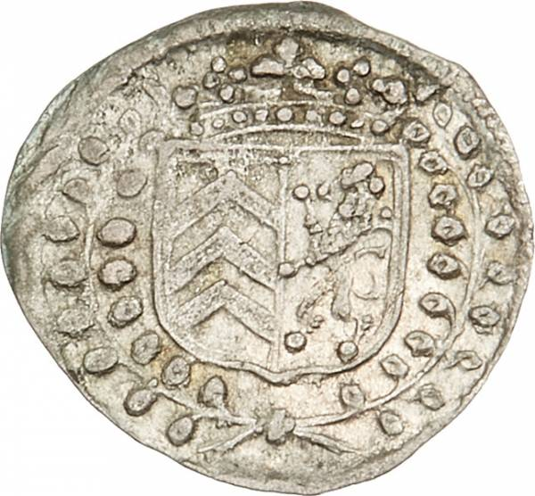 1 Kreuzer Hanau-Lichtenberg Graf Friedrich Casimir 1676-1683