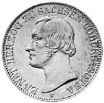 Taler Ernst II. 1846 Sehr schön