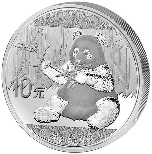 10 Yuan China Panda 2017