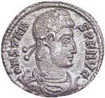 Mittel-Follis Constans 333-350 n.Chr. s-ss