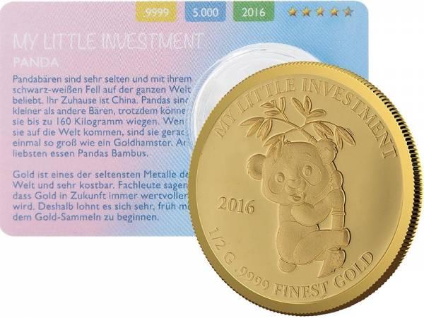 10 Dollars Salomonen My Little Investment Panda 2016