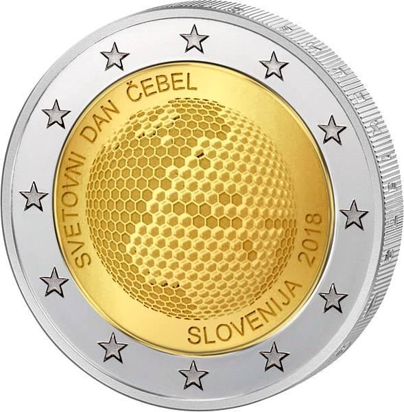2 Euro Slowenien Weltbienentag 2018