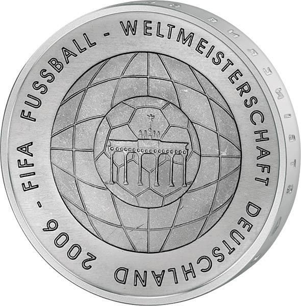 10 Euro BRD FIFA Fußball-WM (4. Version) 2006