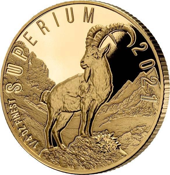 25 Dollars Salomonen Superium Steinbock 2021