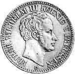 Taler  Friedrich Wilhelm III. 1827 bis 1828  ss