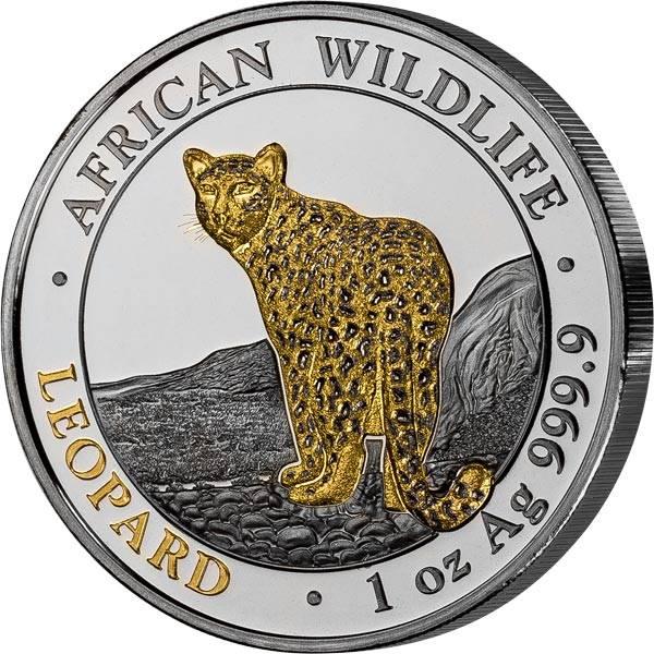 100 Shillings Somalia Leopard Golden Enigma 2018