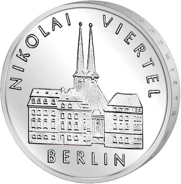 5 Mark Nikolaiviertel Berlin