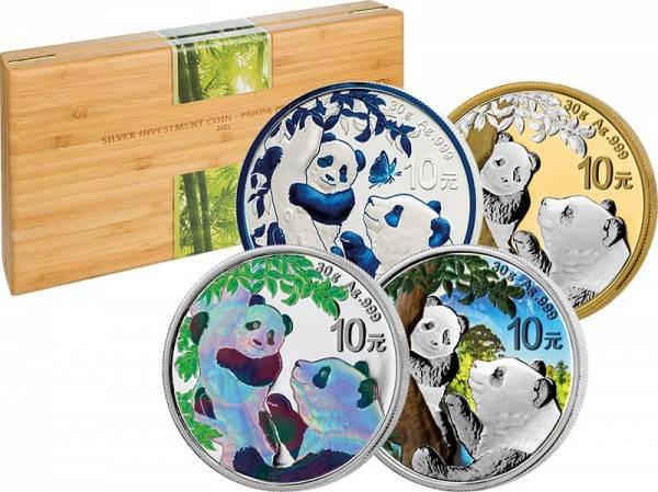 Silver Investment Coin Prestige-Set Panda 2021
