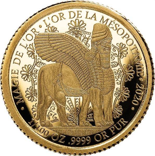 100 Francs Kongo Das Gold Mesopotamies 2020