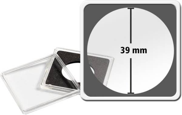 Quadrum Intercept-Kapsel Durchmesser 39 mm