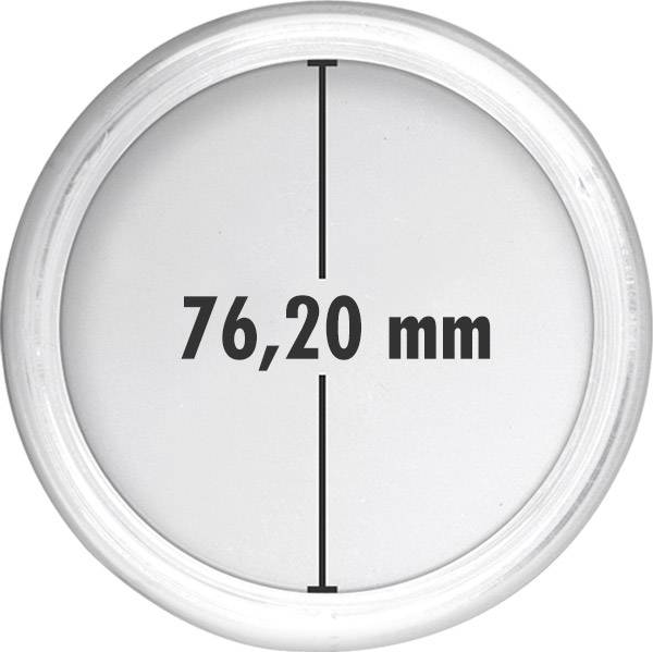 Münzkapsel 5 Unzen Nationalpark Innendurchmesser 76,20 mm