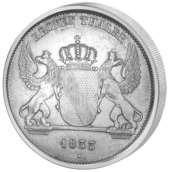 Taler Kronentaler Leopold 1830-1837 Sehr schön