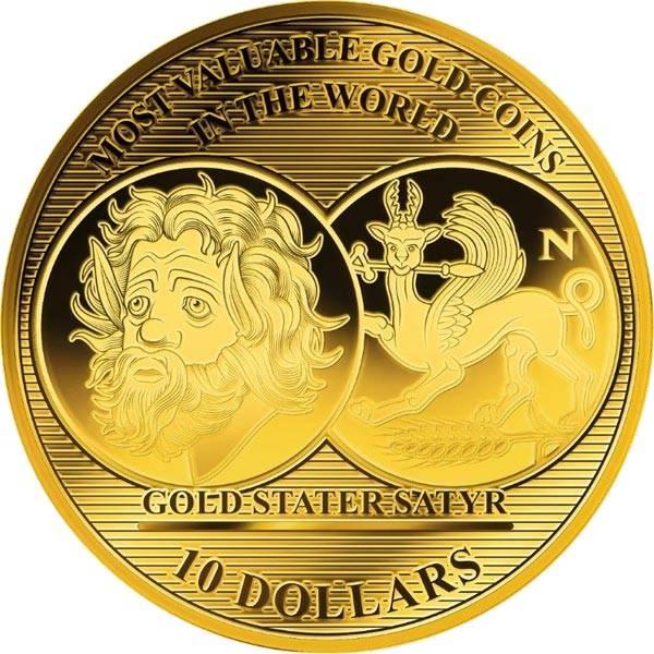 10 Dollars Salomonen Gold Stater 2017