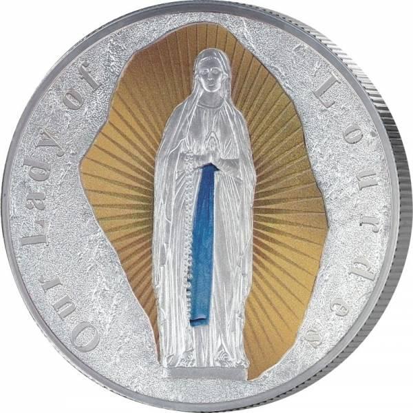 1 Dollar Tokelau Madonna von Lourdes 2019