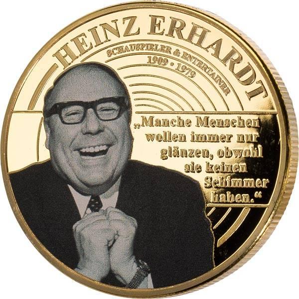 Gedenkprägung Heinz Erhardt