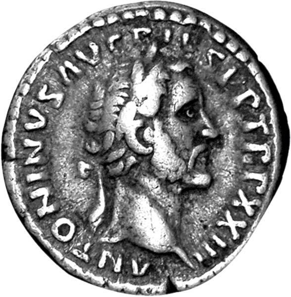 Denar Rom Kaiser Antoninus Pius 138-161 n. Chr. Sehr schön