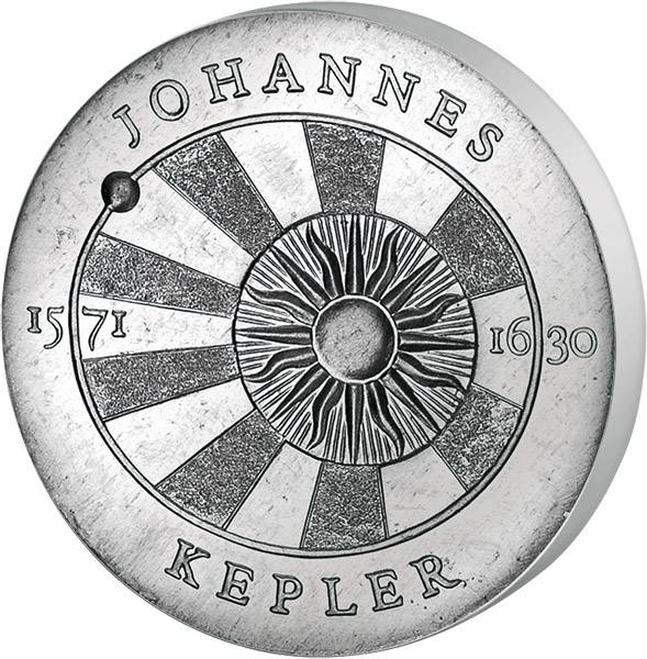 5 Mark DDR 400. Geburtstag Johannes Kepler  1971 Stempelglanz