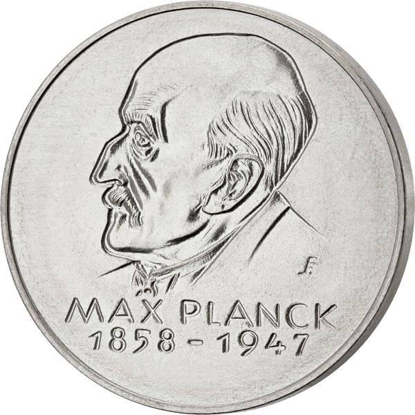 Gedenkmedaille DDR Max Planck 1972