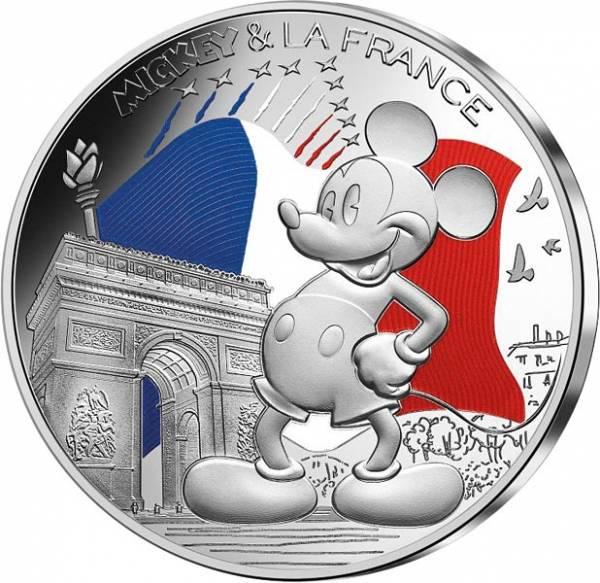 50 Euro Frankreich Mickey Mouse Champs Elysées