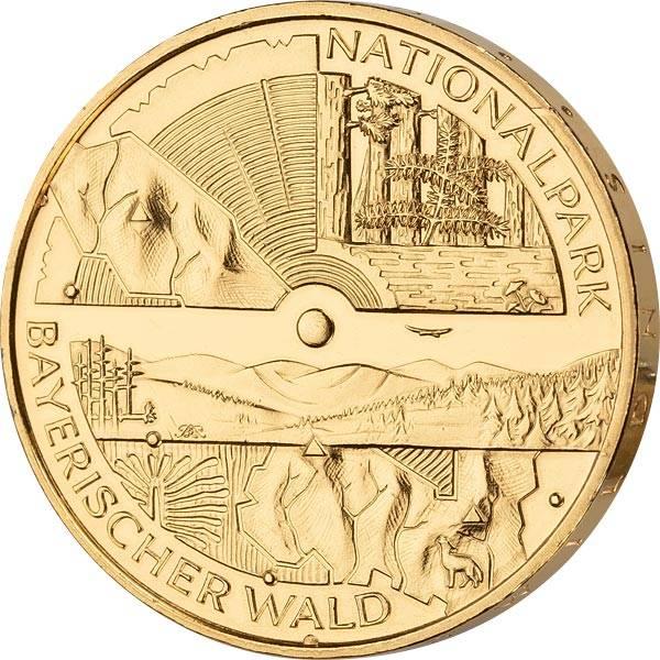 10 Euro BRD Nationalpark Bayerischer Wald 2005