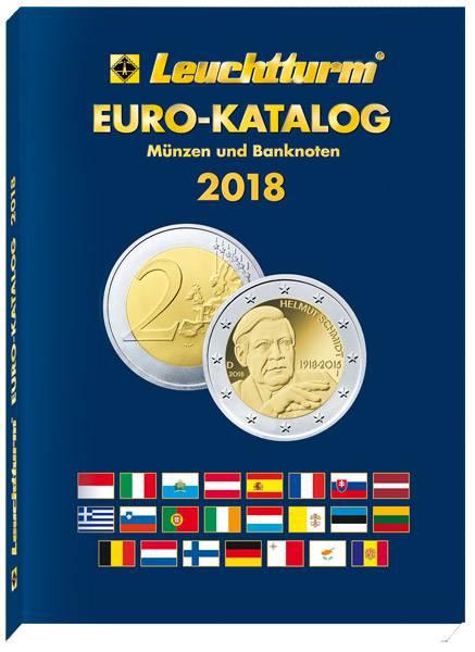 Leuchtturm Euro-Katalog 2018