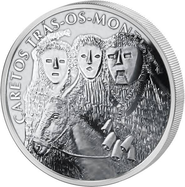 2,5 Euro Portugal Die Masken von Trás-os-Montes 2017
