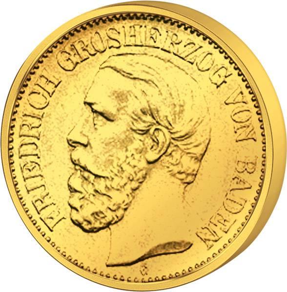 5 Mark Friedrich I. 1877