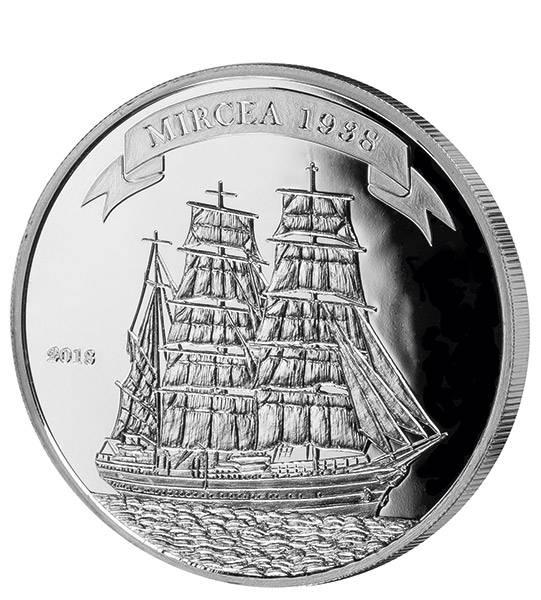 1.000 Francs Benin Segelschiff Mircea 2018