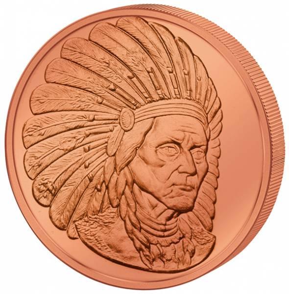 1 Unze Gedenkprägung Sitting Bull