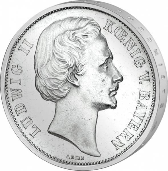 Taler Siegestaler Bayern König Ludwig ll. 1871  ss-vz