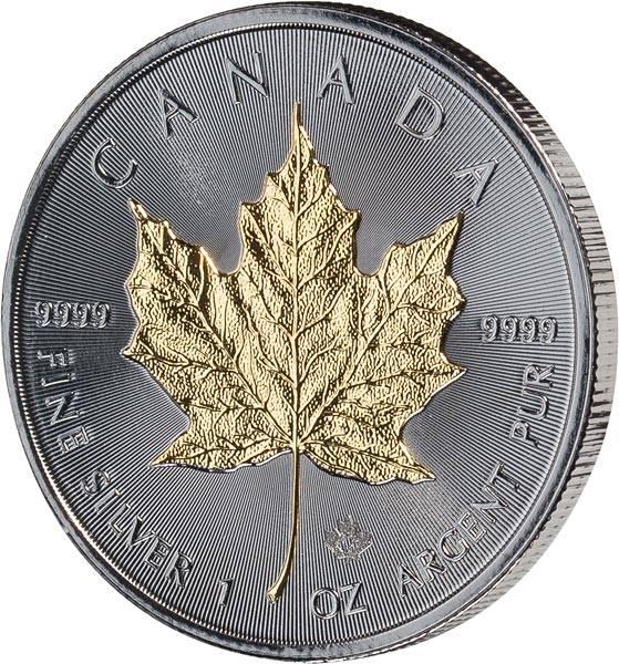 1 Unze Kanada Maple Leaf Golden Enigma 2018