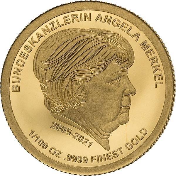 1.500 Francs Togo Angela Merkel 2021