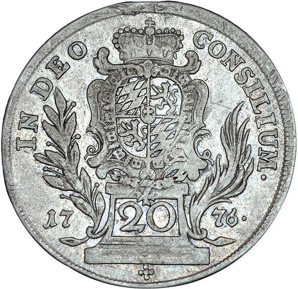 20 Kreuzer Bayern Kurfürst Maximilian III.