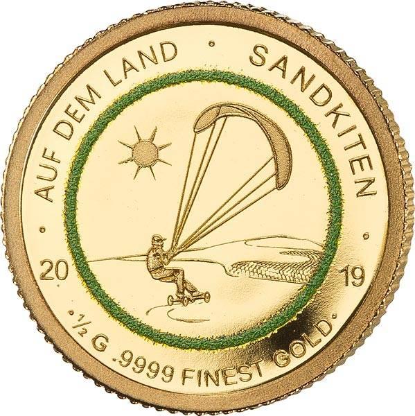 250 Francs Senegal Auf dem Land Sandkiten 2019