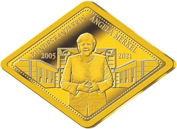 Goldbarren Angela Merkel 2021