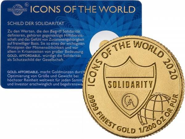 1/200 Unze Gold Ruanda Solidarität 2020