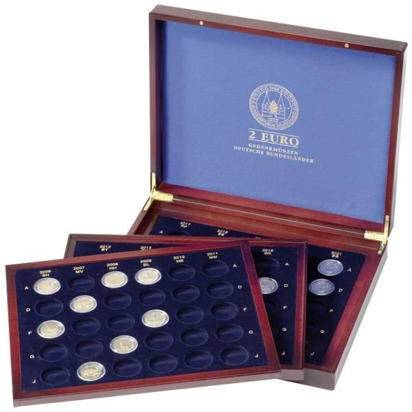 Münzkassette für 80 x 2-Euro Münzen